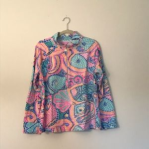 Lilly Pulitzer Skipper popover in Tile Wave